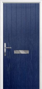 Cottage Composite Front Door in Blue