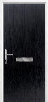 Cottage Composite Front Door in Black