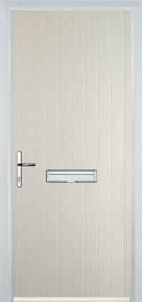Cottage Composite Front Door in Cream