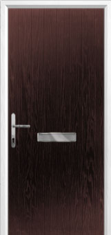 Cottage Composite Front Door in Darkwood