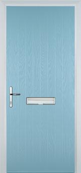 Cottage Composite Front Door in Duck Egg Blue