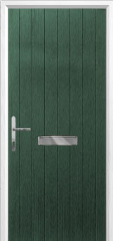 Cottage Composite Front Door in Green
