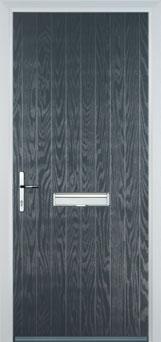 Cottage Composite Front Door in Grey