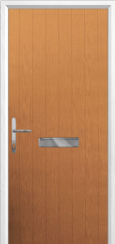 Cottage Composite Front Door in Oak