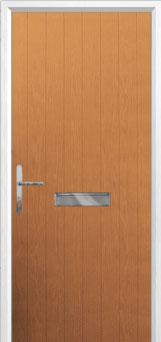 Cottage Composite Front Door in Oak