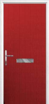 Cottage Composite Front Door in Red
