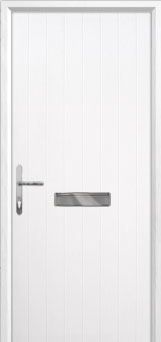 Cottage Composite Front Door in White