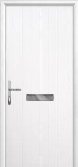 Cottage Composite Front Door in White