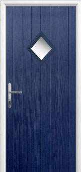 Diamond Composite Front Door in Blue