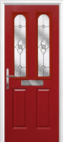 2 panel 2 arch finesse composite front door