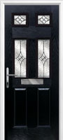 2 Panel 4 Square Composite Doors