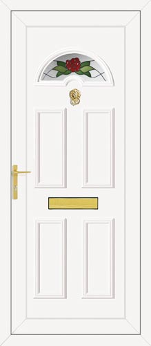 Carter One Country Rose UPVC Front Door