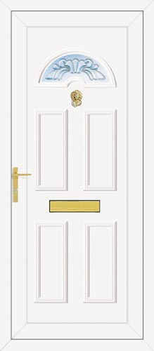 Carter One Maryland (Clear Bevel) UPVC Front Door