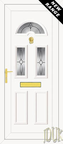 Carter Three Impression UPVC Front Door