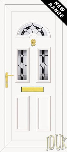 Carter Three TriStar UPVC Front Door