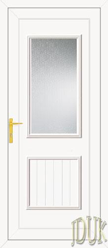 Chester One Glazed UPVC Back Door