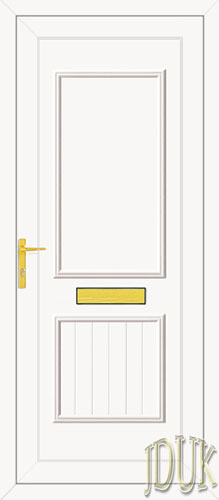 Chester Solid UPVC Back Door
