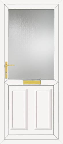 Clinton Half Panel UPVC Front Door