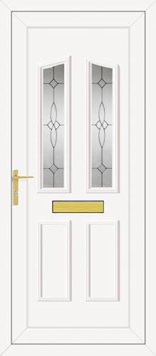 Clinton Two Image UPVC Front Door