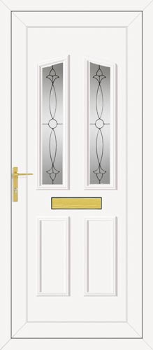 Clinton Two Impression UPVC Front Door