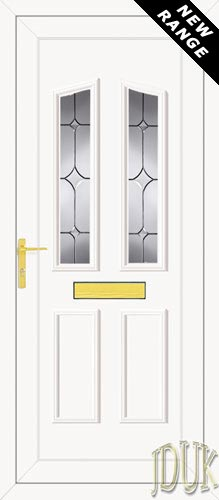 Clinton Two TriStar UPVC Front Door