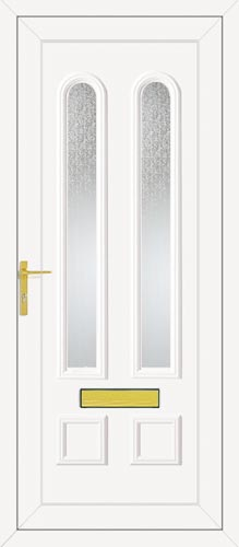 Grant Two Glazed UPVC Front Door