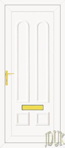 Grant Solid UPVC Front Door