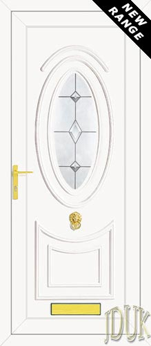 Jefferson One Aspiration (Resin Sandblast) UPVC Front Door