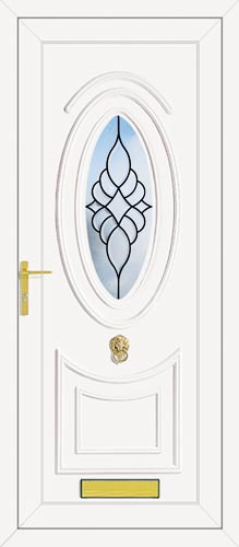 Jefferson One Dream (Coloured Bevel) UPVC Front Door
