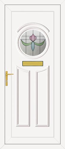 Minova One Spurr UPVC Front Door