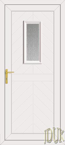 Monroe One Glazed UPVC Front Door