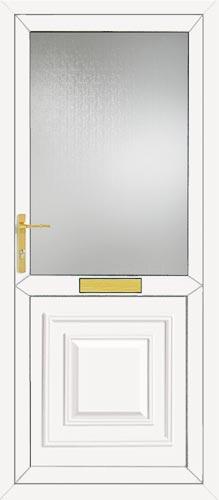 Orleans Half Panel UPVC Front Door