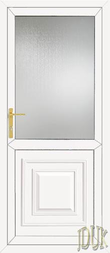 Orleans Half Panel UPVC Cottage Door
