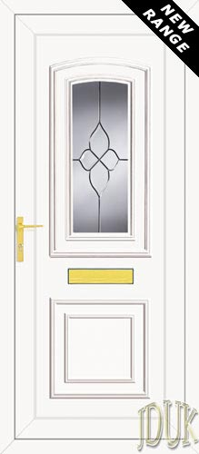 Reagan One Cluster UPVC Front Door