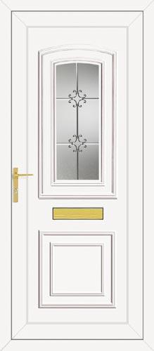 Reagan One Crystal UPVC Front Door