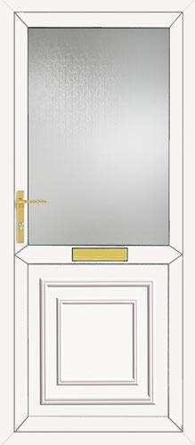 Reagan Half Panel UPVC Front Door