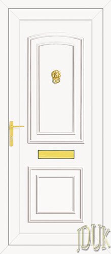 Reagan Solid UPVC Front Door