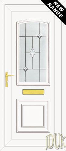 Roosevelt One Aspiration (Resin Sandblast) UPVC Front Door