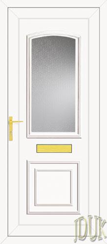 Roosevelt One Glazed UPVC Front Door