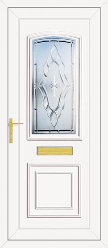 Roosevelt One Sentiment (Clear Bevel) UPVC Front Door
