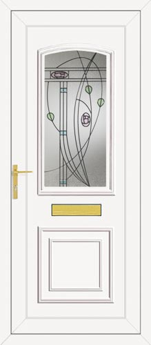 Roosevelt One Springfield UPVC Front Door