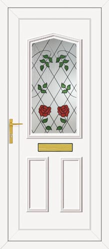 Taft One Classic Climbing Rose UPVC Front Door