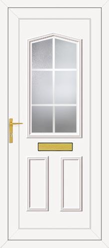 Taft One Georgian Bar UPVC Front Door