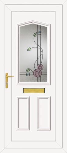 Taft One Rennie Ebony UPVC Front Door