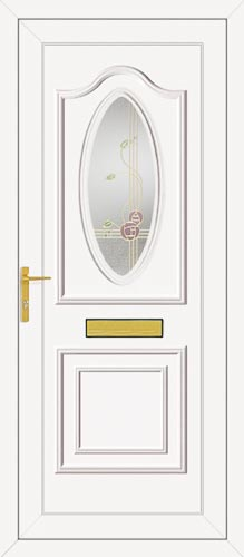 Thomas One Rennie Gold UPVC Front Door
