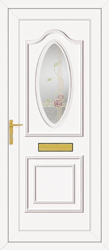 Thomas One Rennie Gold UPVC Front Door