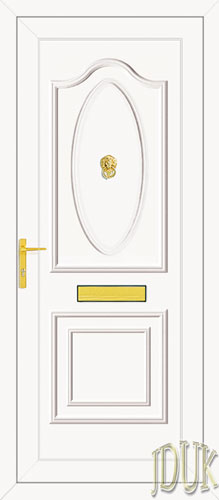 Thomas Solid UPVC Front Door