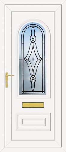 Truman One Brooklyn (Coloured Bevel) UPVC Front Door