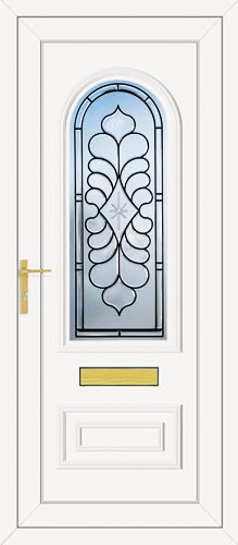 Truman One Legend (Coloured Bevel) UPVC Front Door