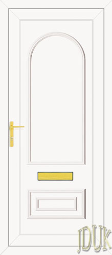 Truman Solid UPVC Back Door